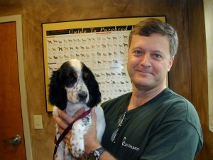 pet and owner happy at a veterinary hospital yorktown va